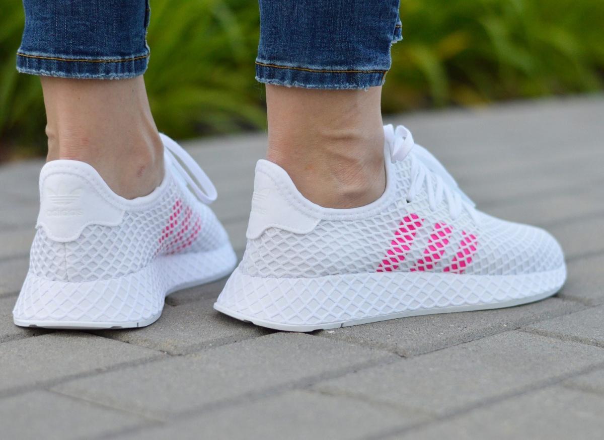 Détails sur Adidas Deerupt Runner J EE6608 Chaussures FemmesJunior